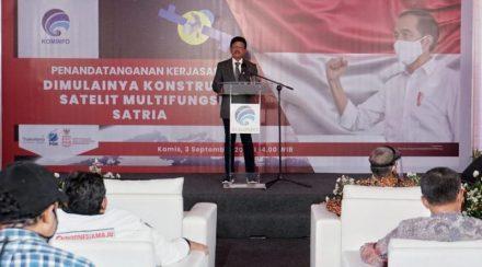 Proyek Satelit Multifungsi Republik Indonesia (SATRIA)