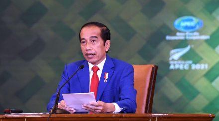 SOLIDARITAS & VAKSINASI GLOBAL PIDATO PRESIDEN RI DI KTT APEC